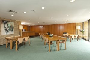 Seminar Room with group tables